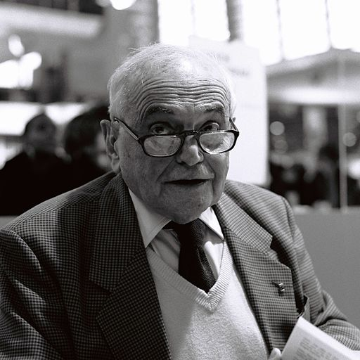 Michel Déon au salon du livre de Paris 2012