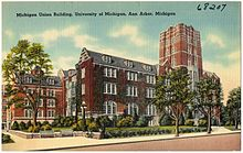 Michigan Union Building, University of Michigan, Ann Arbor, Michigan (68207).jpg