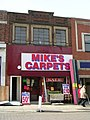 Mike's Carpets - Queen Street - geograph.org.uk - 1769726.jpg