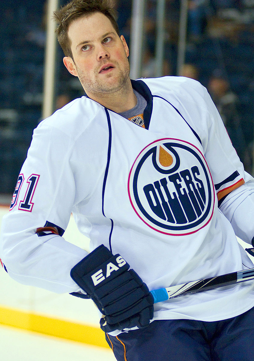 Mike Comrie - Ice hockey player from St. Albert, Alberta