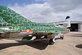 Mikoyan-Gurevich MiG-21US Mongol-B RSideRear CFM 7Oct2011 (15138569428).jpg