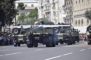 Day of the Armed Forces of Azerbaijan - Image: Military parade in Baku on an Army Day 27