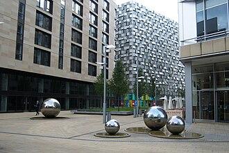 Millennium Square, Sheffield - Millennium Square and St Paul's Place