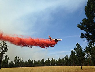 Milli Fire - Retardant drop, August 20