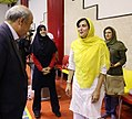 Minister of Sport Mahmoud Goudarzi visits Iran women's national sitting volleyball team (13950607154416668501584).jpg