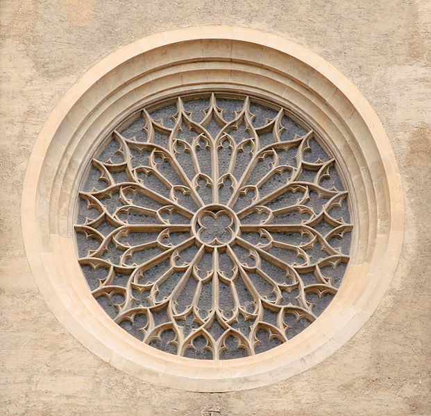 File:Minoritenkirche rose window - Vienna.jpg