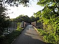 Minuteman Bikeway bridge over Interstate 95, Lexington MA.jpg