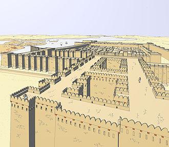 Mirgissa - Perspective reconstruction of Mirgissa