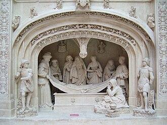 Solesmes Abbey - Mise au tombeau du Christ, Solesmes