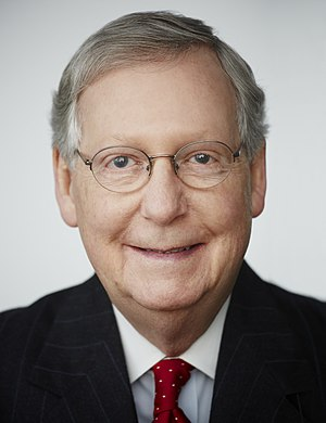 Party leaders of the United States Senate - Majority Leader Mitch McConnell (R)