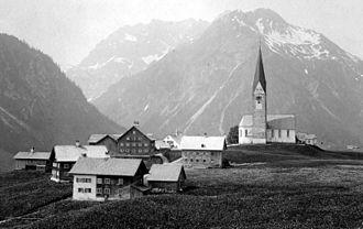 Kleinwalsertal - Mittelberg, 1900