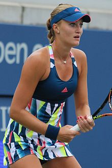 Mladenovic At The  Us Open