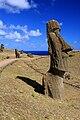 Moai at Rano Raraku - Easter Island (5381262329).jpg