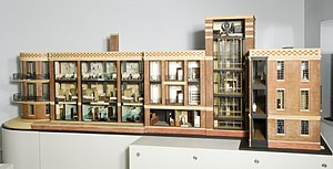 King's Fund - Model of a hospital promoting the King Edward's Hospital Fund, 1932. Wellcome Trust, London.
