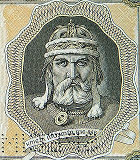 Duke of  Great Moravia