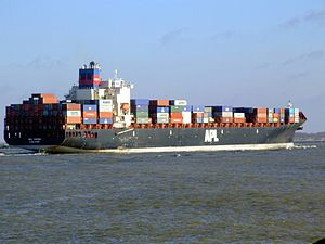 Mol Vision pE approaching Port of Rotterdam, Holland 25-Jan-2007.jpg