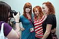Molly McIsaac, Kari Byron and Morgan Romine by user YGX.jpg