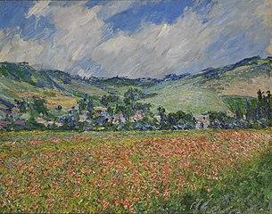Poppy Field. Around Giverny