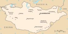 Description de l'image Mongolia CIA map.png.