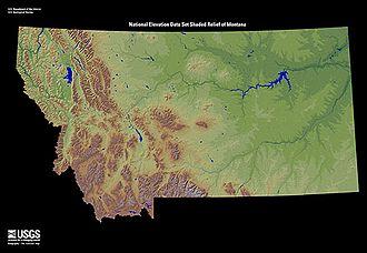Montana - Montana terrain