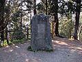 Montececeri, monumento a leonardo da vinci.JPG