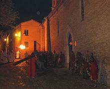 Secolare processione del Venerdì Santo.