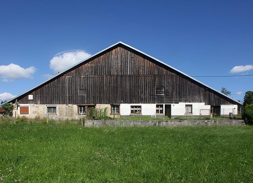 Ferme à Montflovin (Doubs).