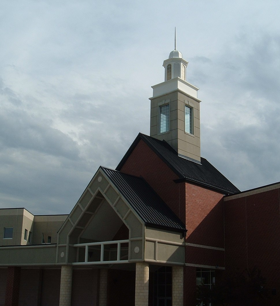 Montgomery Blair High School cupola