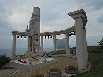 Fyodor Ushakov - Monument to Admiral Fyodor Ushakov for the battle of Cape Kaliakra, Kaliakra, Kavarna