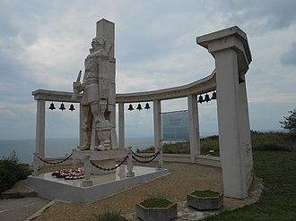 Fyodor Ushakov - Monument to Admiral Fyodor Ushakov for the battle of Cape Kaliakra, Kaliakra, Kavarna