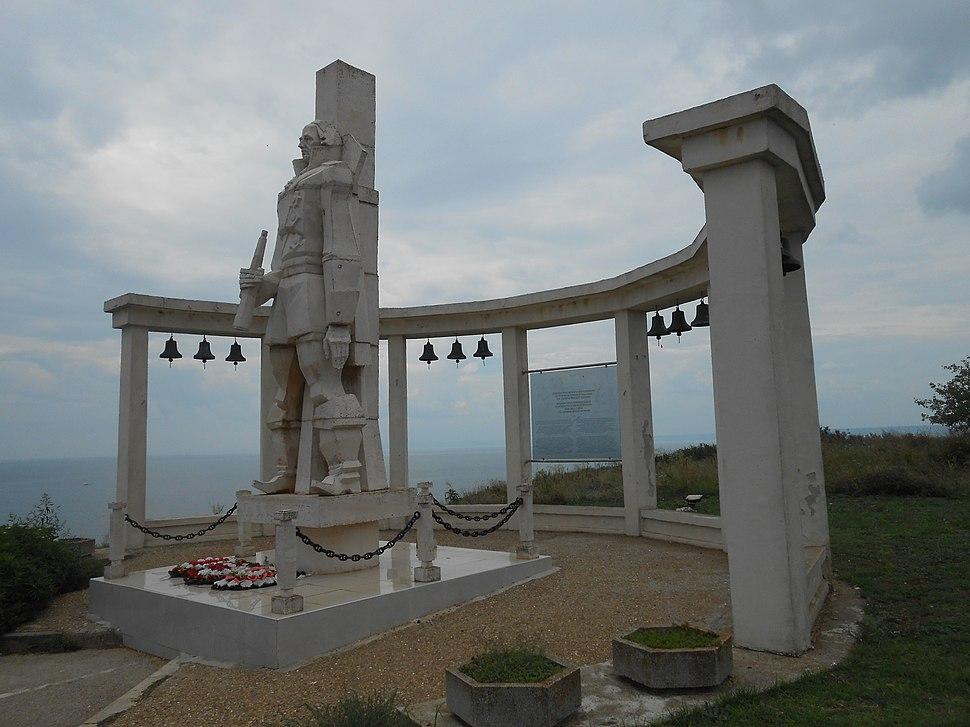 Monument, Admiral Fyodor Ushakov, Kaliakra, Kavarna, Bulgaria