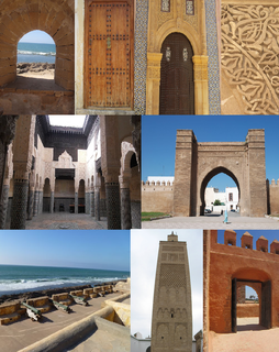 Salé City in Rabat-Salé-Kénitra, Morocco