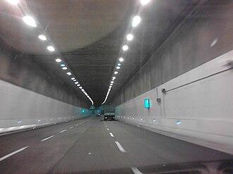 Strada statale 36 del Lago di Como e dello Spluga - The Tunnel in 2013