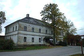 Moravice, Czech Republic - Image: Moravice, bývalý obchod