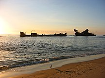 Moreton Island-Recreation-Moreton Island shipwrecks