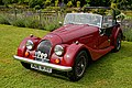 Morgan roadster at Easton Lodge Gardens, Little Easton, Essex, England.jpg