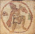 Mosaic Fragment Vintner Preparing to Make Wine.jpg