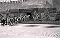 Moskau 1957 - Lenin-Stalin-Mausoleum.jpg