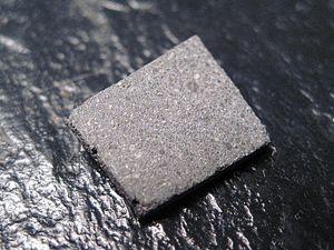 Moss meteorite - Moss slice