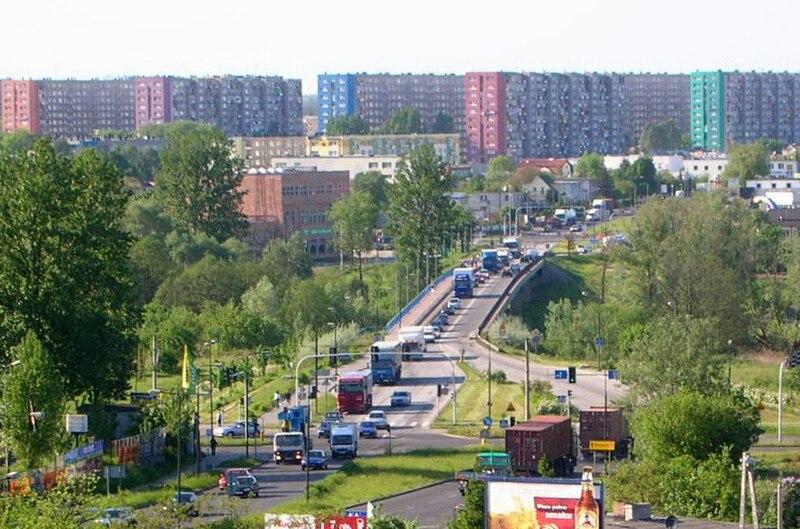 widok na most z Kapuścisk