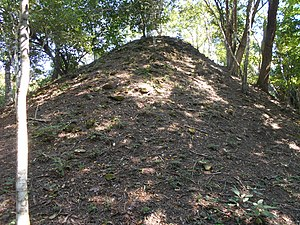Motul de San José - Pyramid in Group B