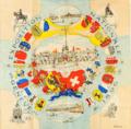 Mouchoir imprimé - Exposition Nationale Genève - 1896 - TI 235070 PF.png