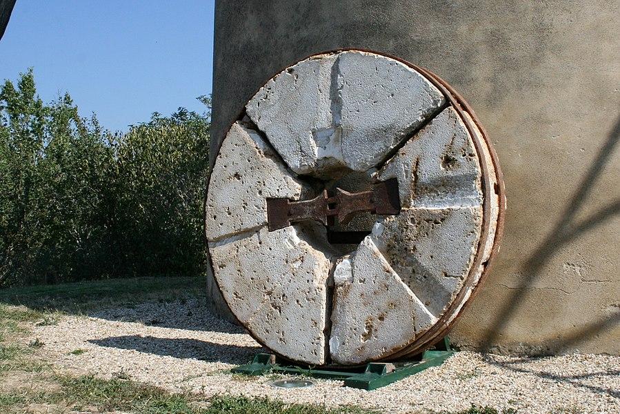 Moulin à vent de Vignasse - Ancienne meule