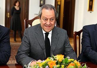 Mounir Fakhry Abdel Nour - Image: Mounir Fakhry Abdel Nour Senate of Poland