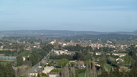 Skyline of Mouriès