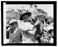 Mrs. Coolidge & raccoon (Rebecca), Easter egg rolling, 4-18-27 LCCN2016842992.jpg