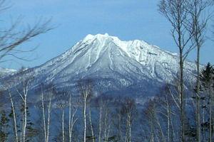 Mount Eniwa - From Lake Shikostu, March 2007