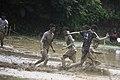 Mud football Kinassery Kerala India 8.jpg