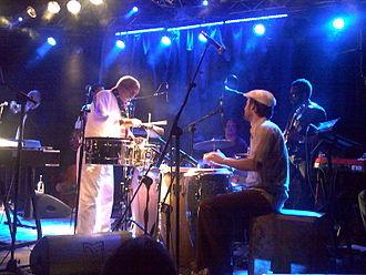Mulatu Astatke - Mulatu Astatke on stage with the Heliocentrics in 2009 in Rome