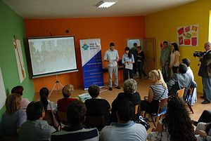 Youth work - The Center for Intercultural Dialogue manages several youth centers in Kumanovo, Macedonia, aiming to offer youth work and to bridge the community divide in the region.